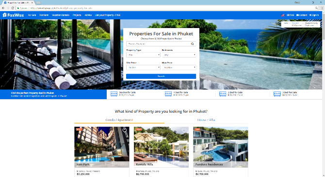 Phuket Property for Sale - FazWaz